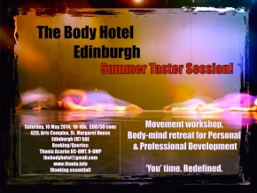The Body Hotel – Aberdeen sessions coming soon